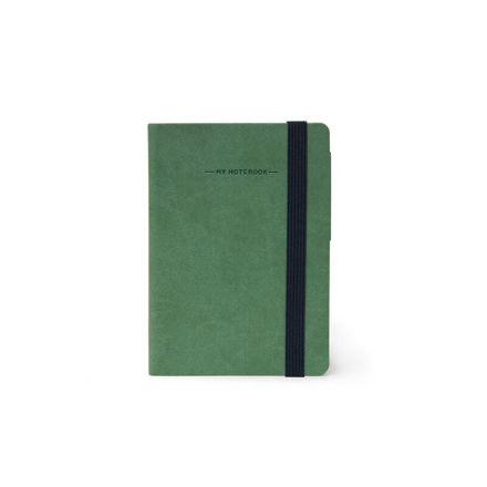 Imagem de Notebook peq c/ linhas - Verde Tropa