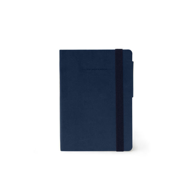 Imagem de Notebook peq liso - Azul Escuro