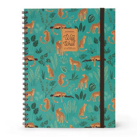 Imagem de Notebook A4 c/ Argolas 3 em 1  Go Wild For a While