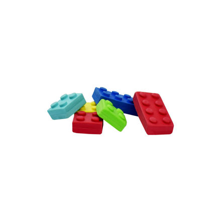 Imagem de Set de 6 Borrachas - Brick by Brick
