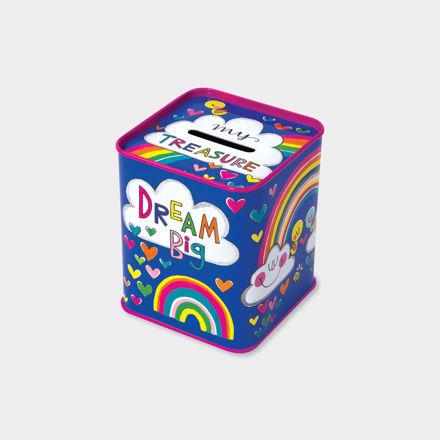 """Imagem de Mealheiro Lata """"Dream Big"""""""