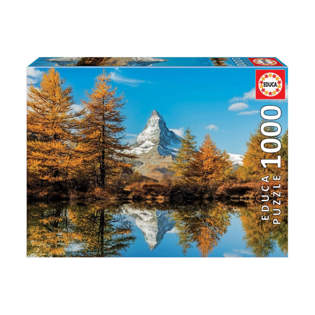 "Imagem de Puzzle Educa 1000 Pcs ""Monte Servino no Outono"""