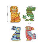 Imagem de Animocolour 4 Puzzles p/ Colorir
