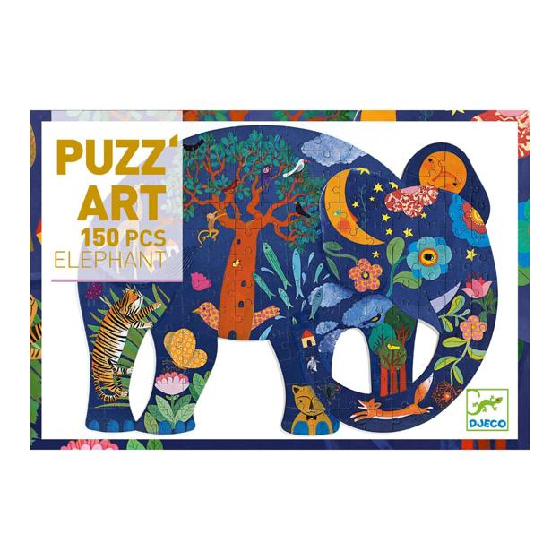 Imagem de Puzz'Art Elefante 150 Pcs