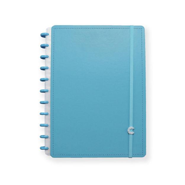 Imagem de Caderno Grande all blue