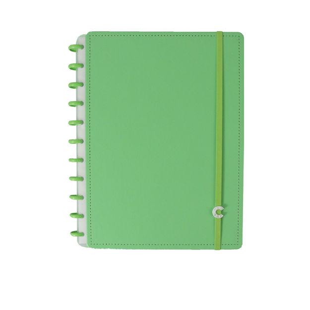 Imagem de Caderno Grande all green