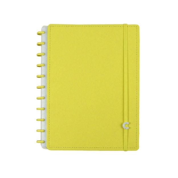 Imagem de Caderno Grande all yellow