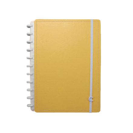 Imagem de Caderno Grande laranja pastel