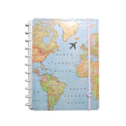 Imagem de Caderno Grande Mapa Mundi ed. Especial Gocase