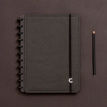 Imagem de Caderno Grande preto ecológico