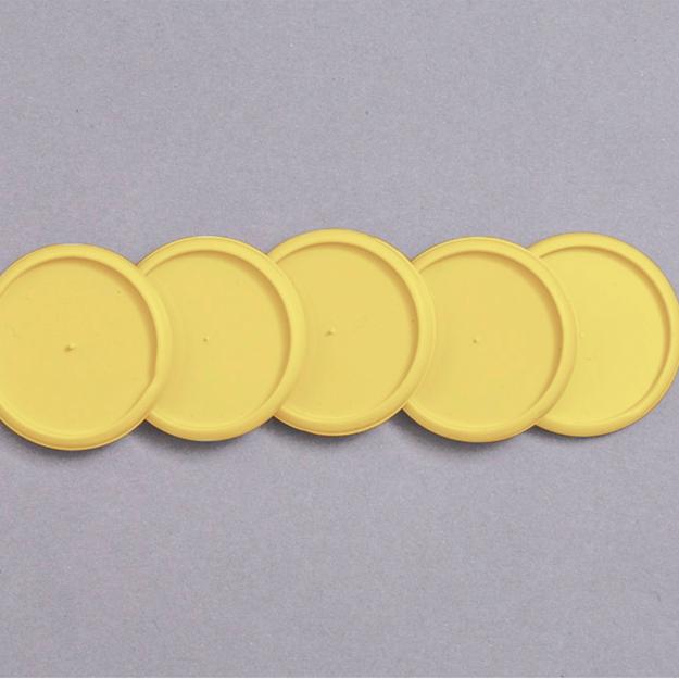 Imagem de Discos e elástico G amarelo cerrado