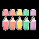 """Imagem de Conj. 5 Marcadores Pastel """"Le bonbon Pâtisserie"""""""