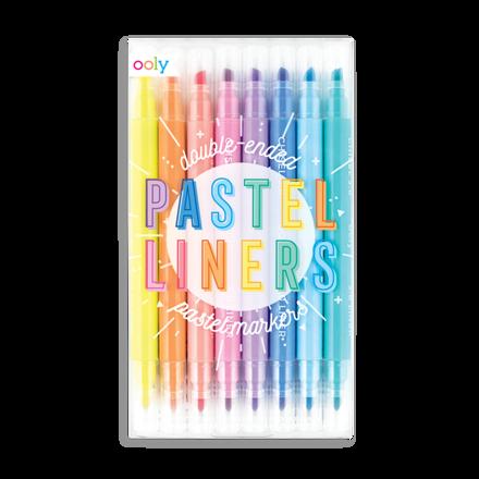 """Imagem de Conj. 7 marcadores """"Pastel Liners"""""""