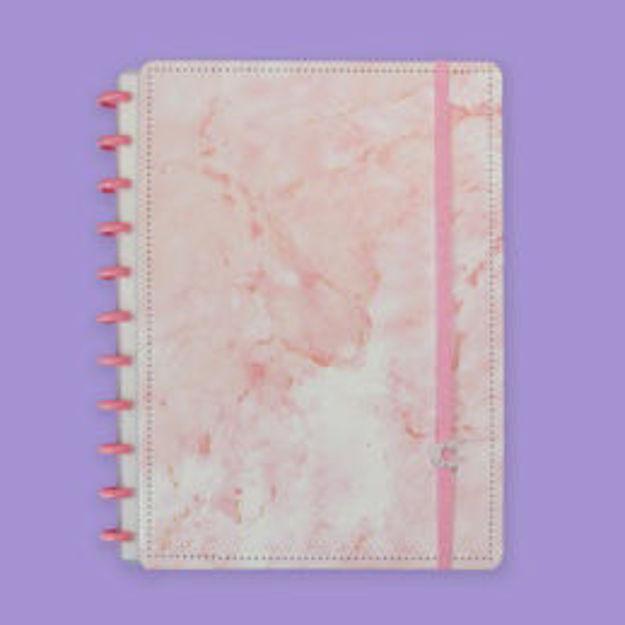 Imagem de Caderno Pink Marble Dream - Grande